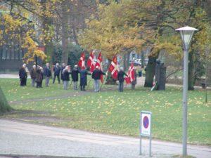 Wreath-laying ceremony, Copenhagen