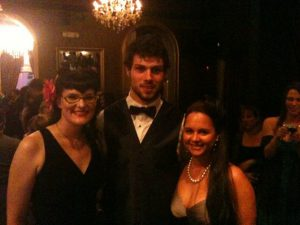 Me and Brandy with Zach Bogosian.