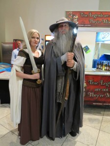 I ran into Gandalf!